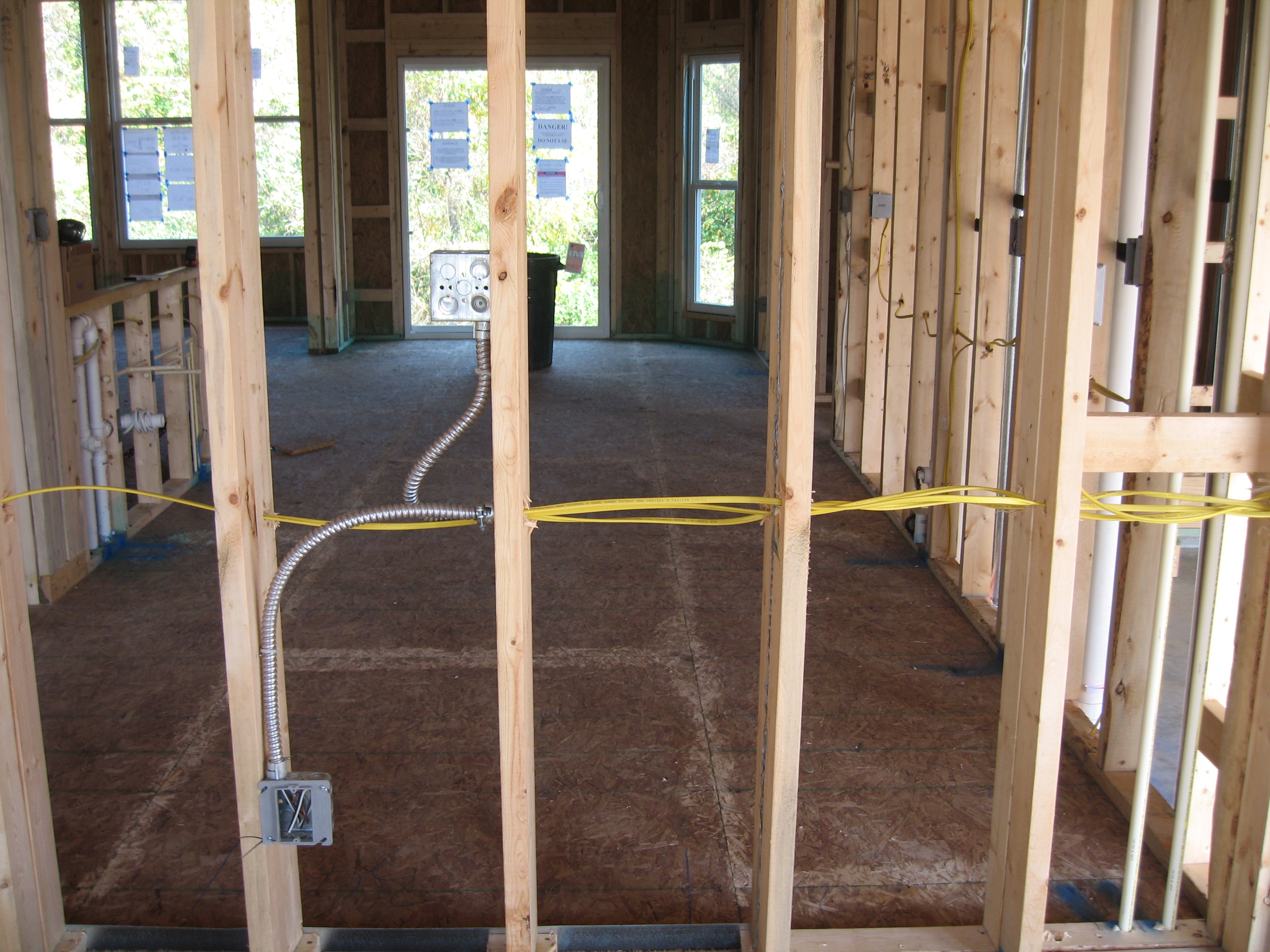 Electrical Wiring In Walls