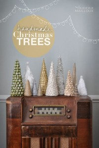 DIY trees by Shauna Mailloux