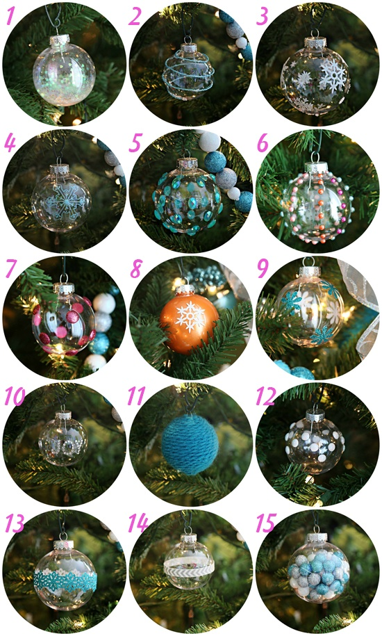 IHeartOrganizing diy ornaments