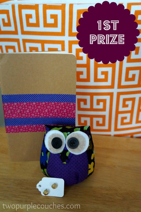 blogiversary giveaway first prize