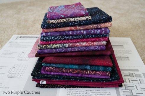 quilting fabrics batiks