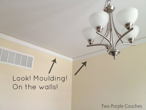 crown moulding install