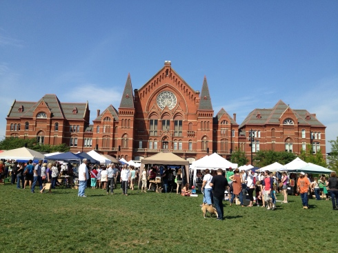 the city flea, august